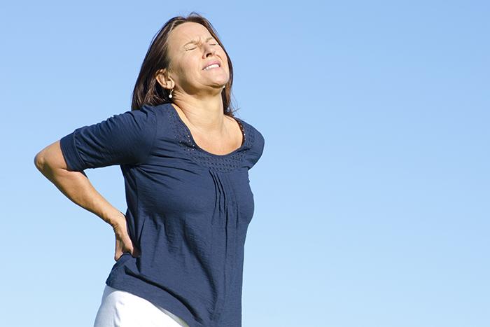 espalda e incontinencia