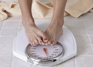 báscula y sobrepeso