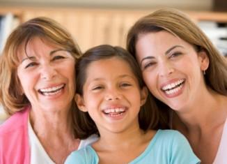 Abuela, madre e hija