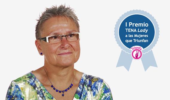Montse, ganadora primer premio tena lady