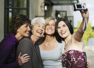 Selfie mujeres maduras