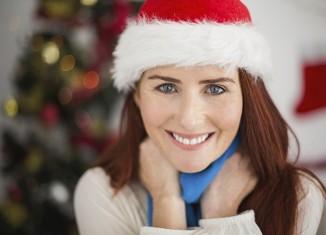 navidades mujer madura