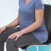 Cómo estar sentada correctamente en el embarazo