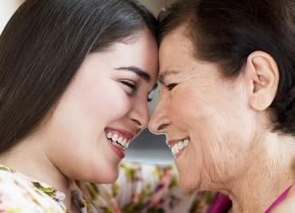 abuela y nieta